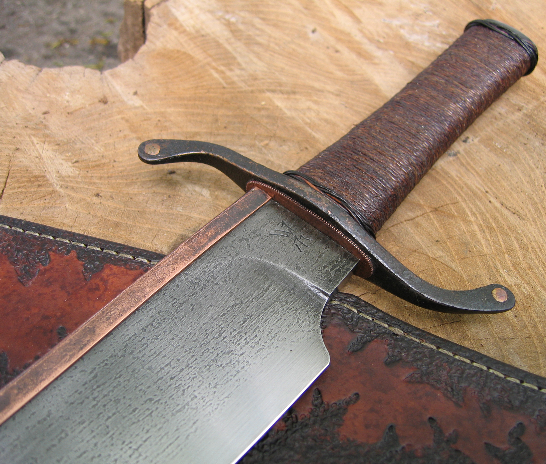 Copper Back Musso Bowie Wildertools By Rick Marchand