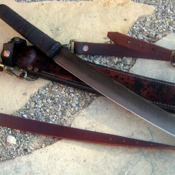 Bush Waki bushknife from Wildertools by Rick Marchand