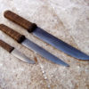 Bushknife Trio from Wildertools by Rick Marchand