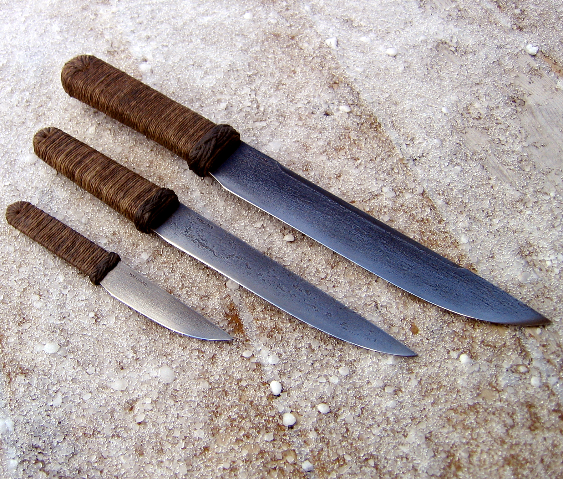 Bushknife Trio Wildertools By Rick Marchand