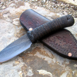 Guppy bushknife from Wildertools by Rick Marchand