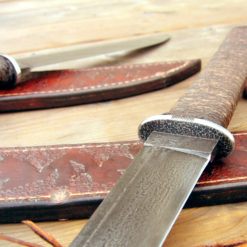 Japanese bushknife trio from Wildertools by Rick Marchand