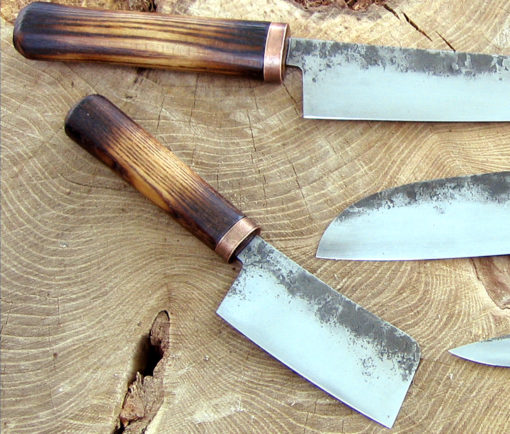 Kitchen knife set from Wildertools by Rick Marchand