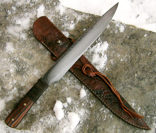 Longknife bushknife from Wildertools by Rick Marchand