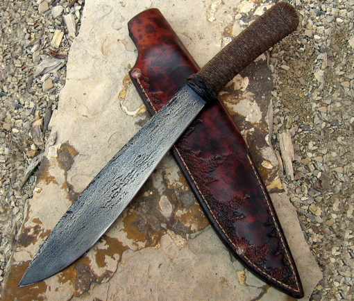 Moro bushknife from Wildertools by Rick Marchand