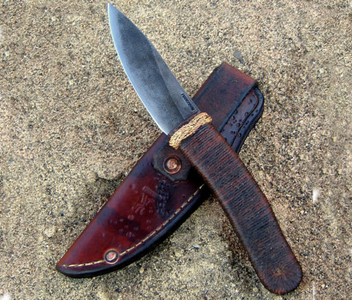 Puukko S-Curve bushknife from Wildertools by Rick Marchand