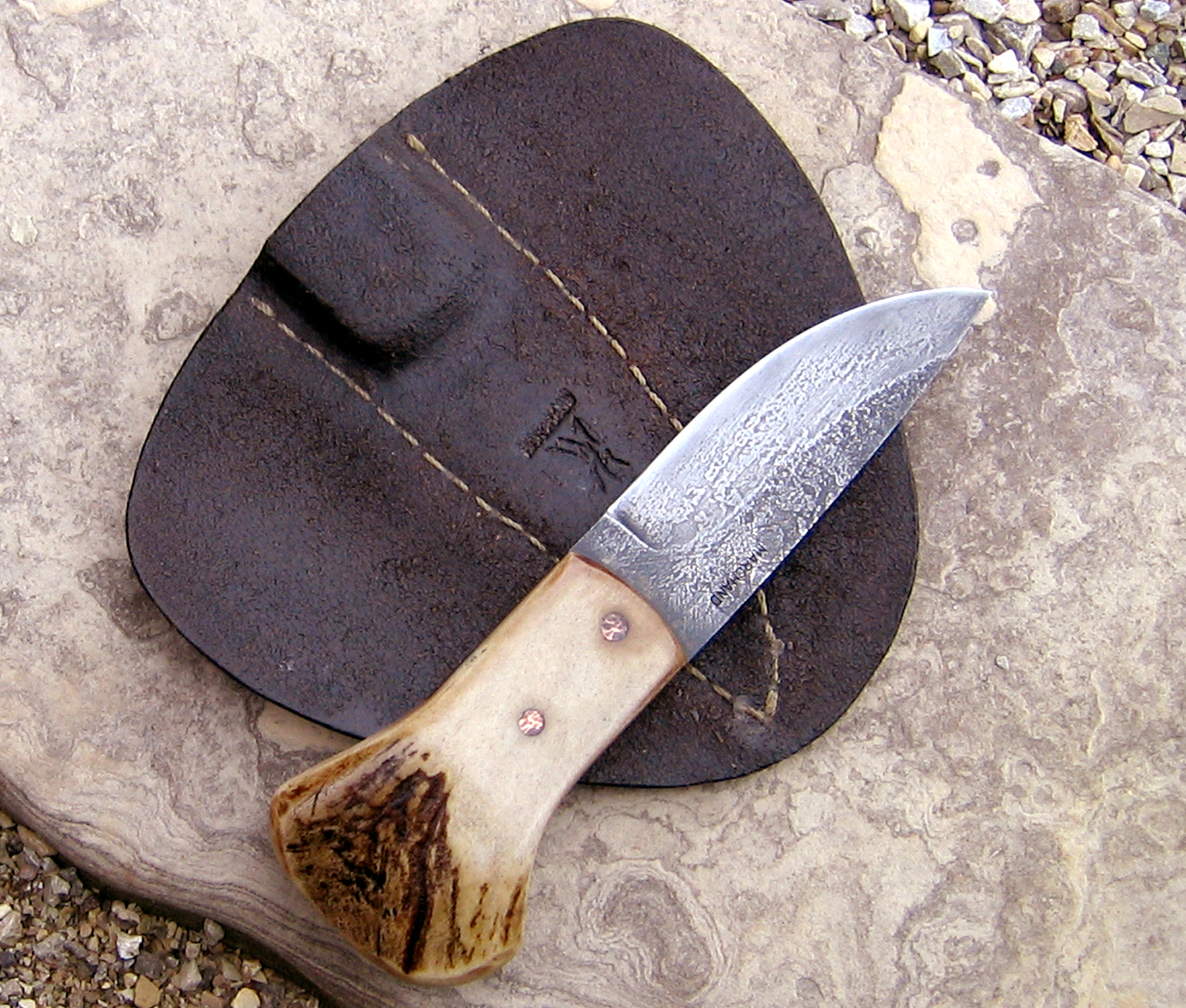 Sgian Dubh scottish knife from Wildertools by Rick Marchand