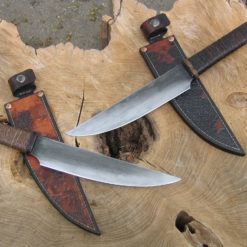 Swept Tanto bushknife from Wildertools by Rick Marchand