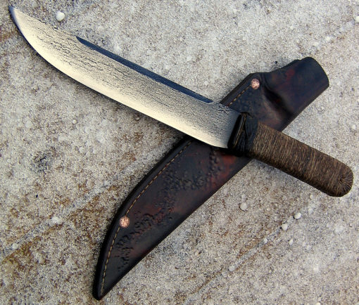 Tanto bushknife from Wildertools by Rick Marchand