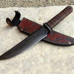 Tanto with Guard bushknife from Wildertools by Rick Marchand