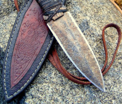 Tribal Dagger art knife from Wildertools by Rick Marchand