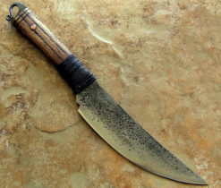 Tribal Swept Necker bushknife from Wildertools by Rick Marchand