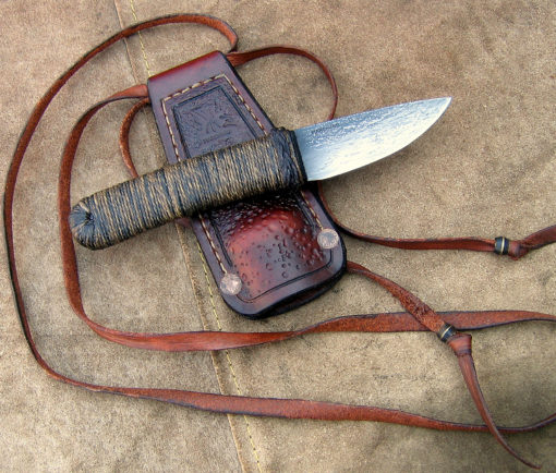 WSS Necker knife from Wildertools by Rick Marchand