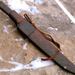 Bush Ido bushknife from Wildertools by Rick Marchand