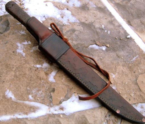 Bush Ido bushknife from Wildertools by Rick Marchand