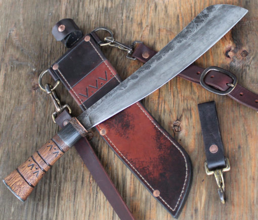 Parang with wooden handle from Wildertools by Rick Marchand