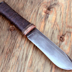 The Pig bushknife from Wildertools by Rick Marchand