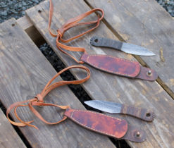 Button Necker Neck Knife by Rick Marchand from Wildertools