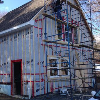 Rick Marchand's new Wildertools workshop in Lunenburg NS