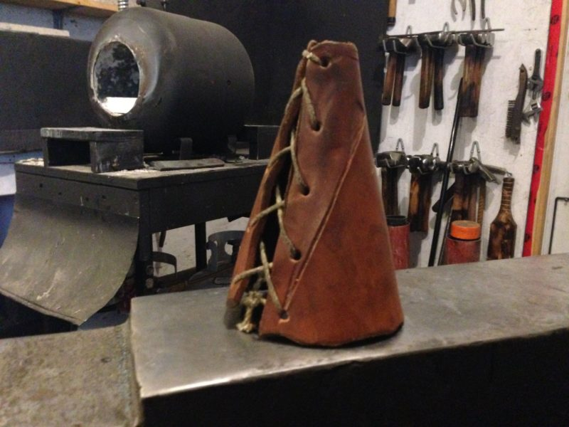 Leather Dunce Cap by Rick Marchand from Wildertools