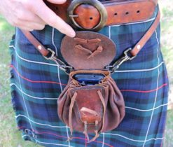 Leather Sporran by Rick Marchand from Wildertools