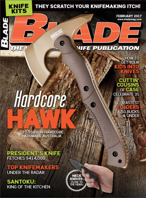 Blade Magazine Cover Feb 2017